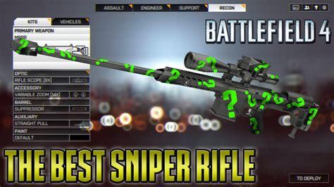 Best Sniping Rifle Battlefield 4