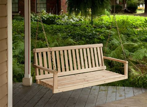 Best finish for cypress porch swing Image