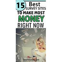 Best money making survey website tutorials