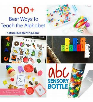 Best Way To Teach Abc To Toddler