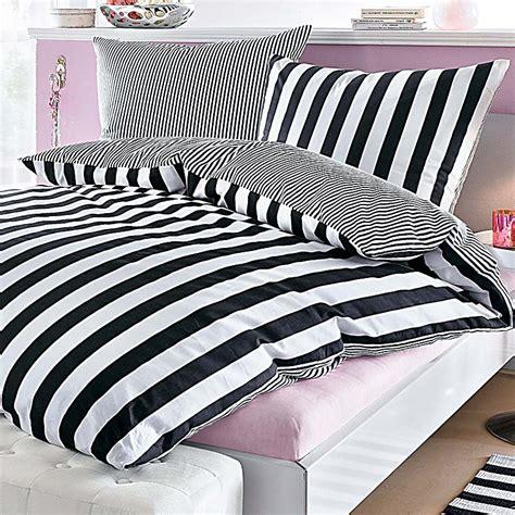 Bettwäsche Schwarz Weiß