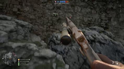 Bf1 25 Kills With Handgun