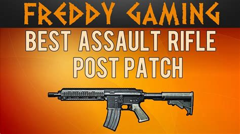 Bf3 Best Assault Rifle Post Patch