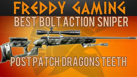 Bf4 Best Sniper Rifle Post Patch