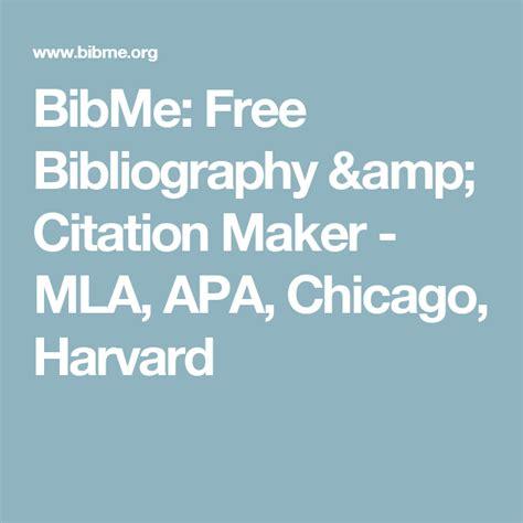 BibMe Free Bibliography Citation Maker - MLA APA