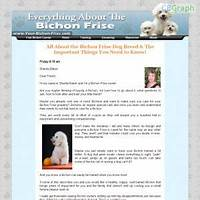 Bichon frise dog ebook and audio package easy affiliate money methods