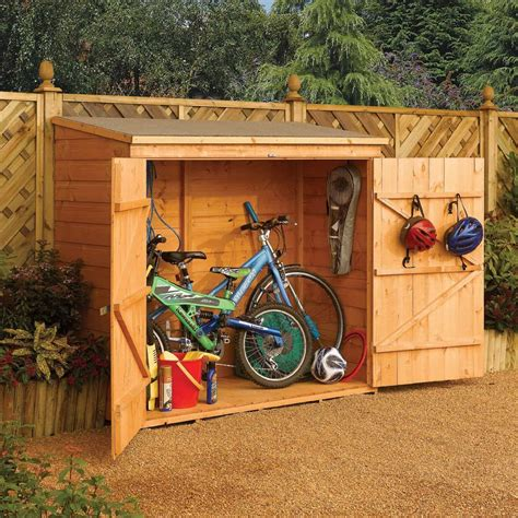 Bicycle sheds storage outdoor Image