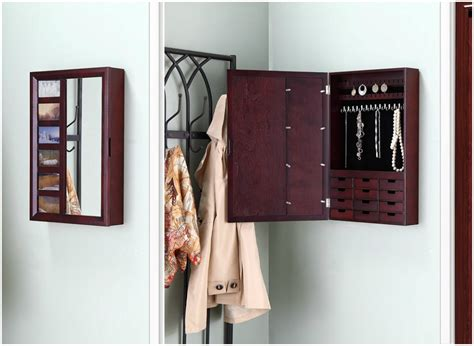 Big jewelry boxes that hang on the wall Image
