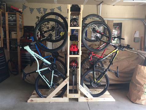 Bike storage garage diy Image