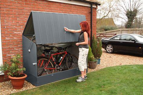 Bike storage shed metal Image
