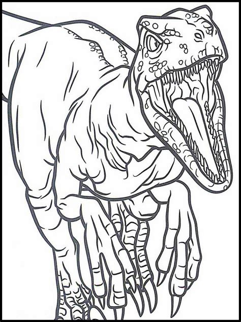 Bilder Zum Ausmalen Jurassic World
