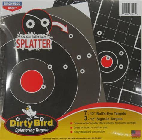 Birchwood Casey Dirty Bird Targets 2 3 Targets 180ct