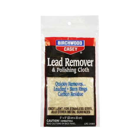Birchwood Casey Lead Remover Polishing Cloth Cabela S