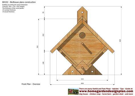 Birdhouse plans free online Image