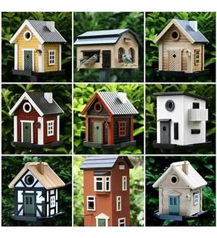 Birdhouse Village Plans