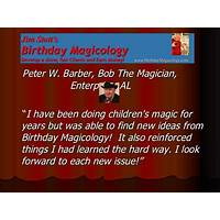 Guide to birthday magicology