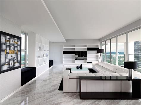 Black And White Condo Interior Design Make Your Own Beautiful  HD Wallpapers, Images Over 1000+ [ralydesign.ml]
