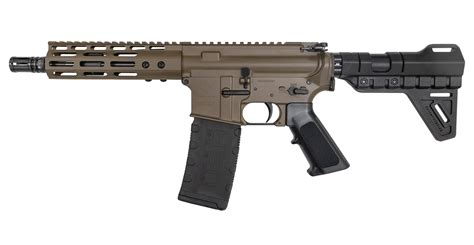 Black Ar15 Patriot Brown Handguard