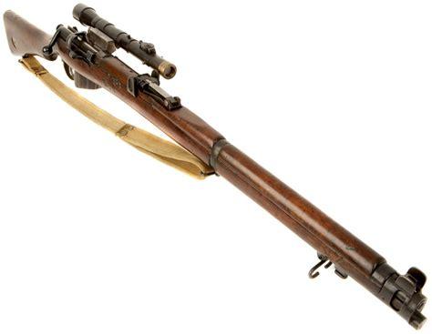Black Backround Ww1 Sniper Rifle