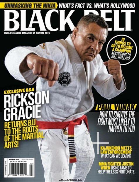 Black Belt Magazine July 2018