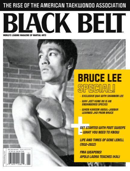 Black Belt World Leading Magazine Of Self Defense 01043