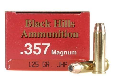 Black Hills 357 Magnum Ammo 125 Grain Jhp