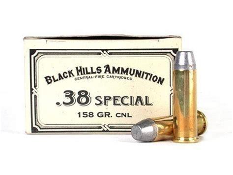 Black Hills 38 Special 158gr Lead Conical Nose Cowboy