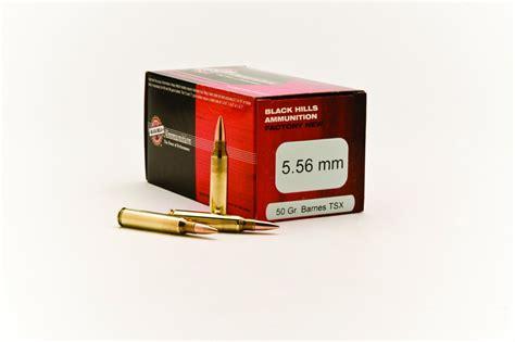Black Hills 5 56mm 50gr Tsx Ammo For Sale Ventura Munitions