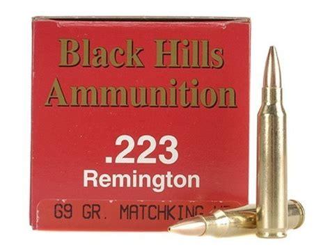 Black Hills Ammo 223 69 Grain Ballistic Coefficient