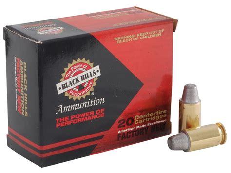 Black Hills Ammo 45 ACP 200 Grain Match Semi-Wadcutter Box