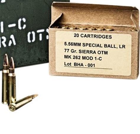 Black Hills Ammo 5 56mm 77 Gr Otm Mk262 Mod1 Charlie S