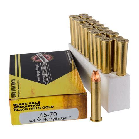 Black Hills Ammunition 4570 Government 325gr Honeybadger 4570 Government 325gr Honeybadger 100case