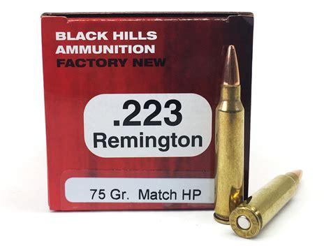 Black Hills Factory New Ammunition 223 Remington 75