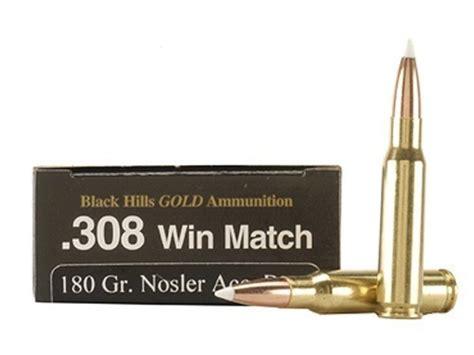 Black Hills Gold 308 Ammo
