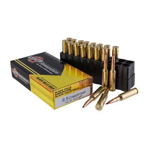 Black Hills Gold Ammo 65 Creedmoor 147gr Eldm 65 Creedmoor 147gr Eldm 20box