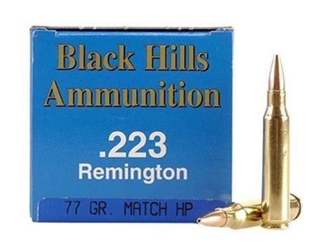 Black Hills Remanufactured Ammunition 223 Remington 77