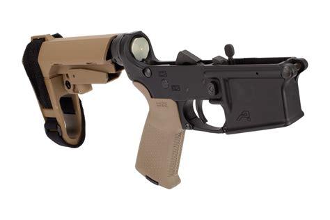 Black Lower Receiver Pistol