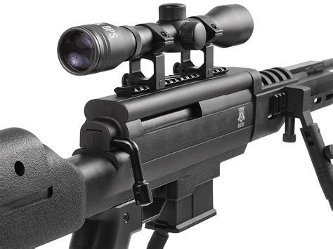 Black Ops Tactical Sniper Scope Combo Gas Piston Air
