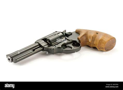 Black Revolver Handgun