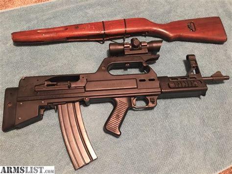 Black Steel Bullpup Gun Converter For Mini 14