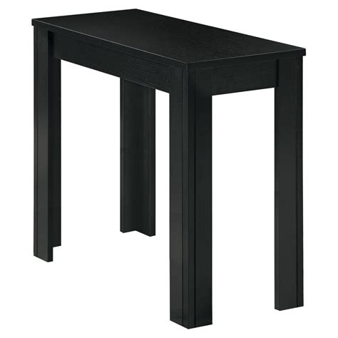 Black Rectangle End Table Image