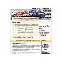 Blackjack sniper software advanced strategy slaps the casinos silly coupon code