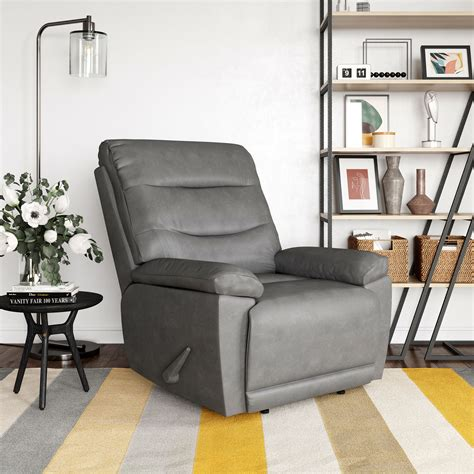 Blackmoor Leather Manual Recliner