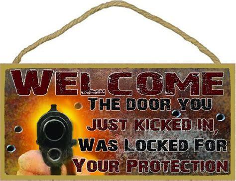 Blackwater Gun Store Closed Door Locked