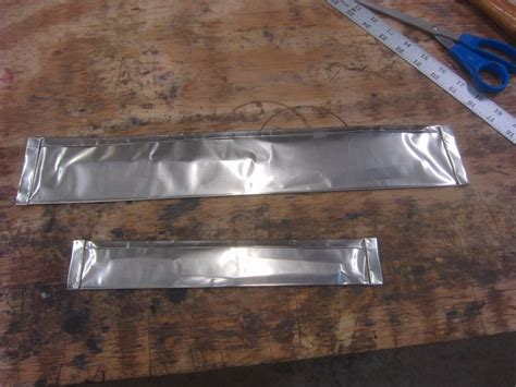 Blade Heat Treating Stainless Foil Wrap Question