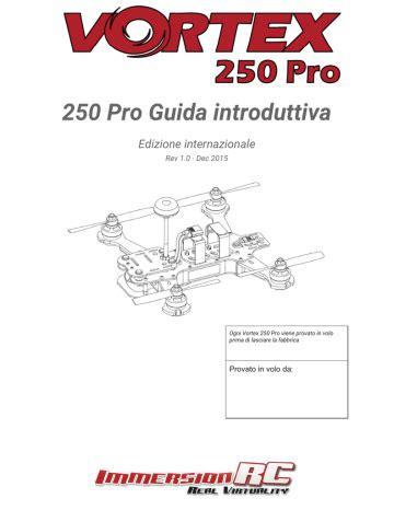 Blade Vortex 250 Pro Manual