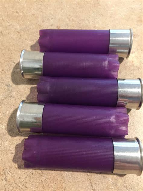 Blank Purple Shotgun Shells