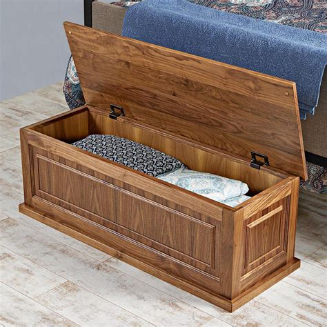 Blanket chest plans Image