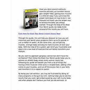 Blast your bench increase your bench press program discounts