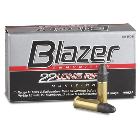 Blazer 22 Ammo Ballistics
